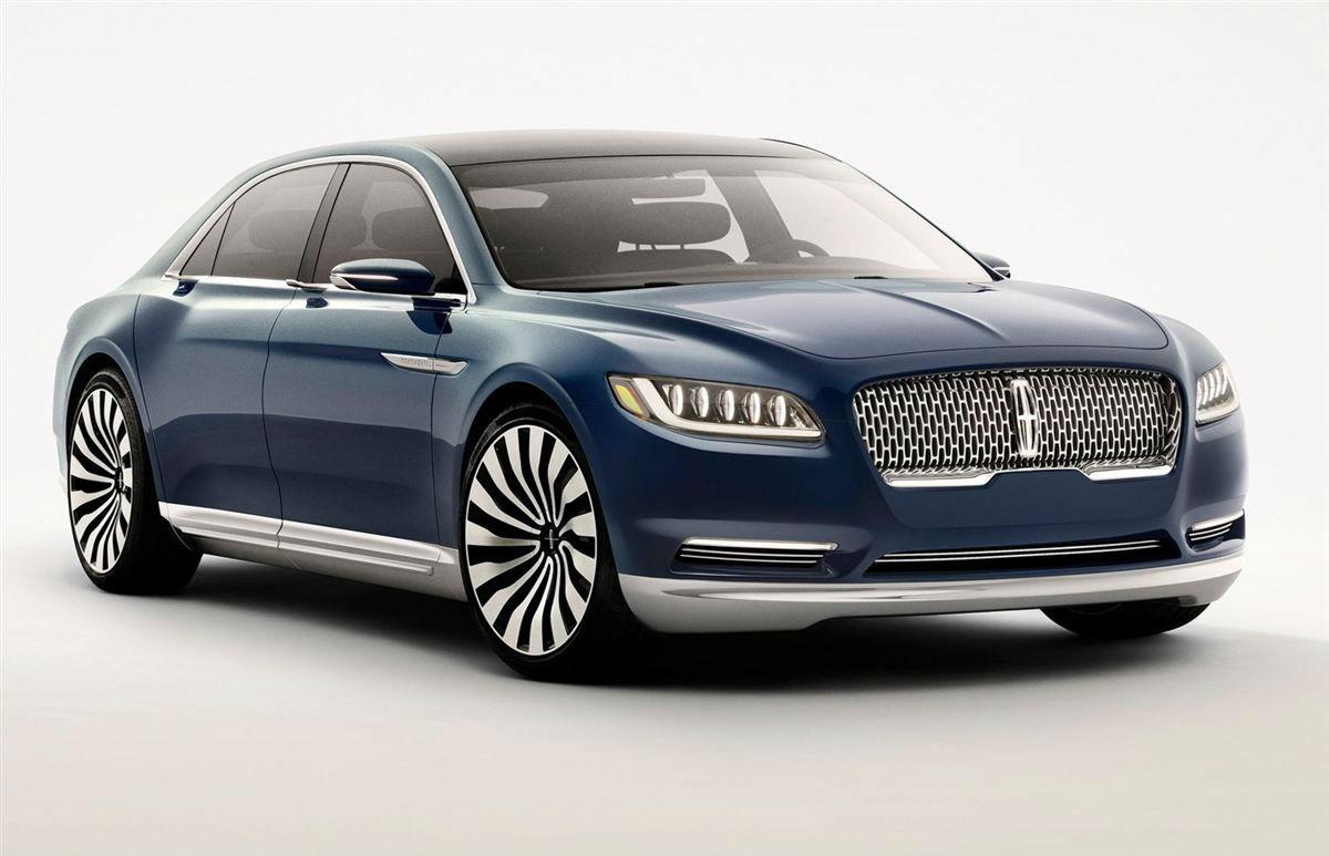 新车预览 林肯大陆定位为一款中大型轿车,并且是林肯旗下轿车系列的